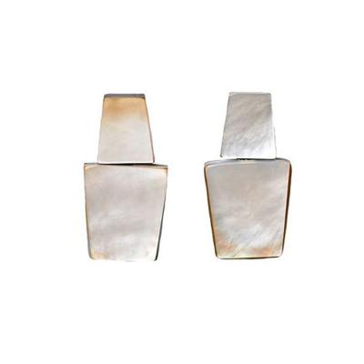EARRINGS IN GREY LIP 400x400 - MONIES EARRINGS IN GREY LIP