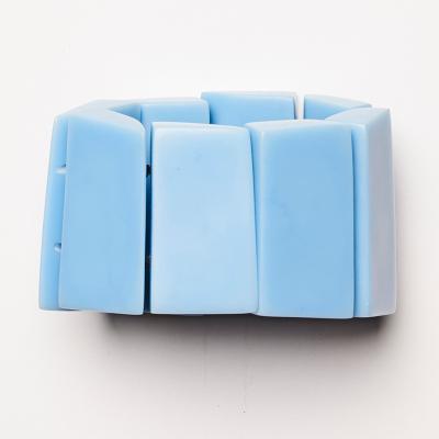 GENOVA BRACELET BLUE 400x400 - MONIES GENOVA BRACELET BLUE POLYESTER LEDER