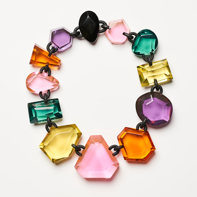 KIMBERLY NECKLACE IN MULTI COLOUR 400x400 - MONIES KIMBERLY NECKLACE IN MULTI COLOUR