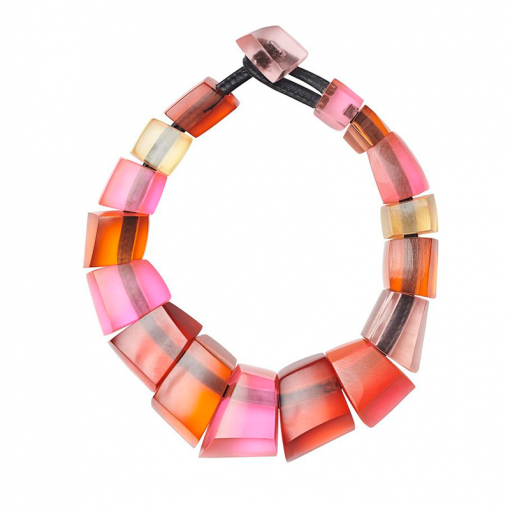 NECKLACE IN COLOURED RESIN 510x510 - MONIES ASTA NECKLACE IN COLOURED RESIN
