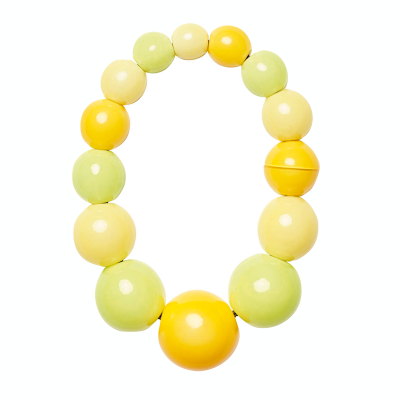 PALERMO NECKLACE CITRUS 400x400 - MONIES PALERMO NECKLACE CITRUS POLYESTER