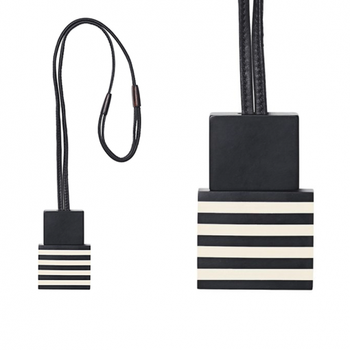 PENDANT IN BLACK AND WHITE 510x510 - MONIES EVELYN PENDANT IN BLACK AND WHITE POLYESTER