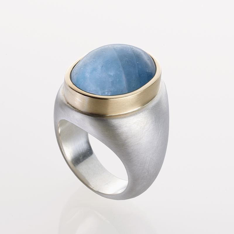 Unikat Ring Blau A 1 - Goldschmiede